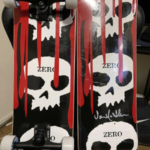 Zero Skateboards 5 star review on 8th January 2021