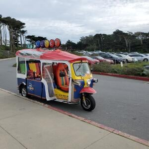Lucky Tuk Tuk Tours & Beer Crawls San Francisco 5 star review on 29th January 2020