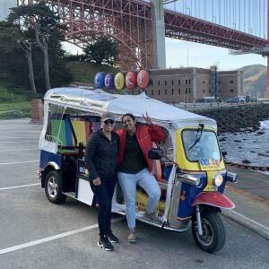 Lucky Tuk Tuk Tours & Beer Crawls San Francisco 5 star review on 16th March 2020