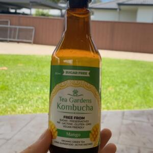 Tea Gardens Kombucha 5 star review on 7th November 2020