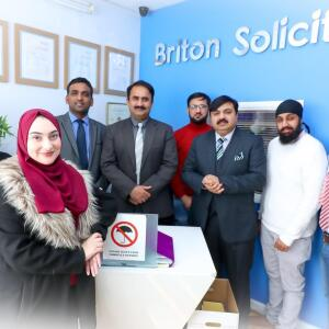 BRITON SOLICITORS 5 star review on 19th April 2020
