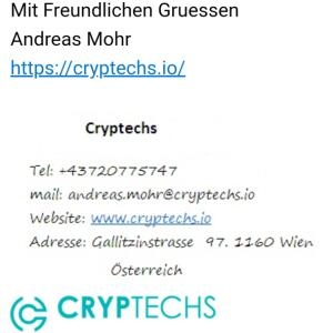 cryptechs.io 1 star review on 23rd March 2020