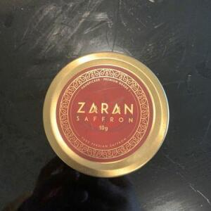Zaran Saffron 5 star review on 5th January 2021