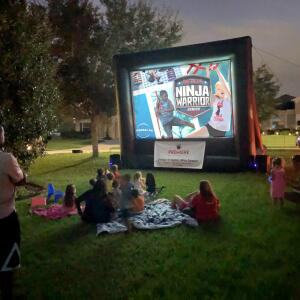 Premiere Outdoor Movies 5 star review on 10th November 2019