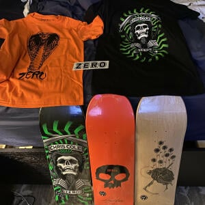 Zero Skateboards 5 star review on 5th October 2020