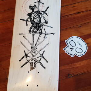 Zero Skateboards 5 star review on 16th January 2021