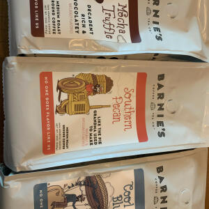 Barnie's Coffee & Tea Co. 5 star review on 4th July 2021