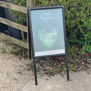 Sign-Holders by Green Magic 5 star review on 12th April 2021