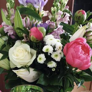 Williamson's My Florist 5 star review on 4th May 2021