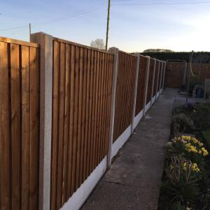 Barnard Fencing LTD 5 star review on 24th March 2017
