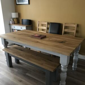 Farmhouse Table Company 5 star review on 4th May 2021