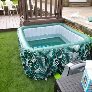 Wave Spas 5 star review on 17th May 2021