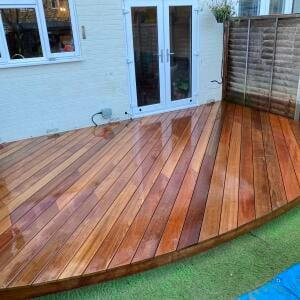London Decking Company  5 star review on 19th February 2021