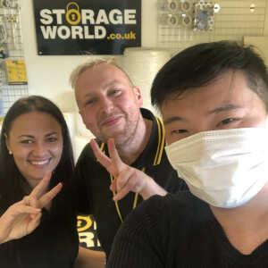 Storage World Self Storage & Workspace 5 star review on 11th April 2020