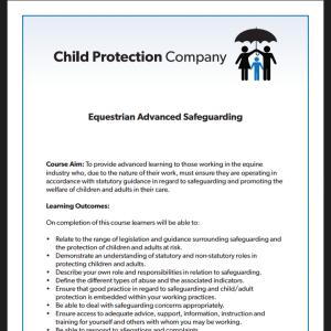 Child Protection Company 5 star review on 10th February 2021