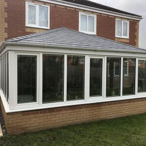 Oakdene Solid Conservatory Roofs 5 star review on 3rd February 2021