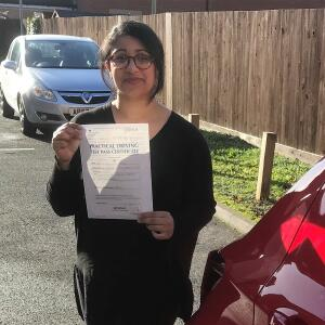 Momentum Driving School 5 star review on 6th December 2018