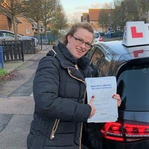 Momentum Driving School 5 star review on 7th December 2018