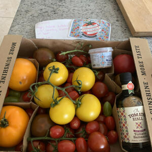 The Tomato Stall 5 star review on 6th July 2021