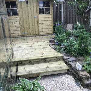 Howarth Timber 5 star review on 19th July 2021