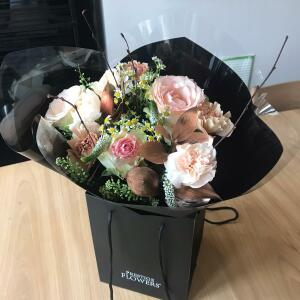 Haute Florist 5 star review on 11th April 2021