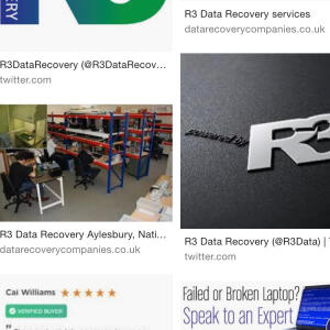 R3 Data Recovery Ltd 5 star review on 29th May 2018