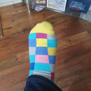 Sock Geeks 3 star review on 7th May 2020