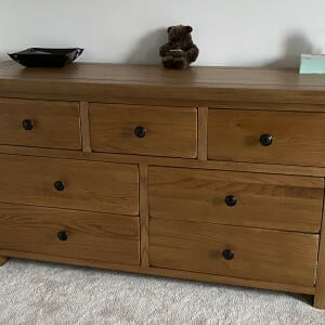 Only Oak Furniture 5 star review on 28th December 2020