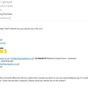 Software Geeks 5 star review on 24th May 2019