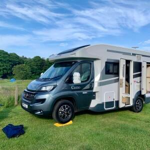 Freedhome Luxury Motorhome Hire 5 star review on 1st July 2021