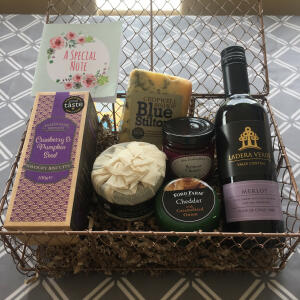 123 Hampers 5 star review on 13th September 2021