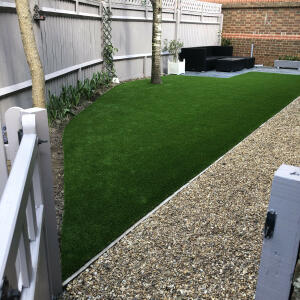 LazyLawn 5 star review on 16th April 2021
