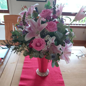 Williamson's My Florist 5 star review on 21st August 2020