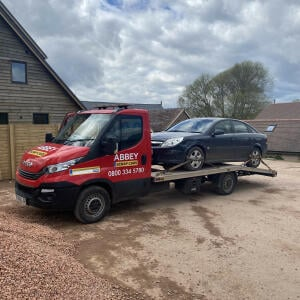 Abbey Scrap Cars 5 star review on 12th April 2021