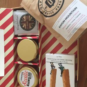 Letter Box Hamper 5 star review on 4th April 2018