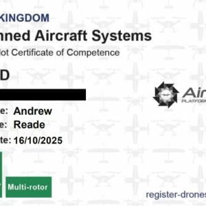 Airborne Platforms UK Ltd 5 star review on 7th November 2020