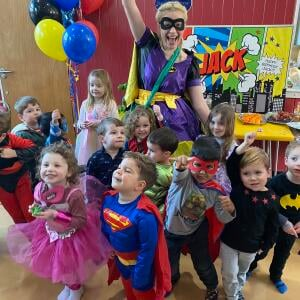 Happy Kinder Parties 5 star review on 11th February 2020
