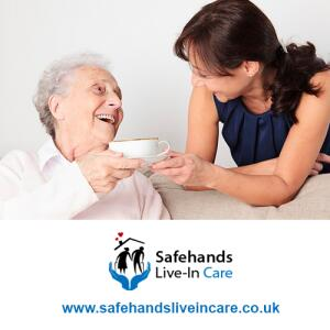Safehands Live in Care 5 star review on 25th January 2021