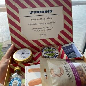 Letter Box Hamper 5 star review on 25th June 2021
