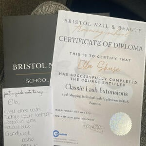 Bristol Nail and Beauty Training School 5 star review on 22nd May 2021