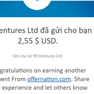 OfferNation.com 5 star review on 10th June 2021
