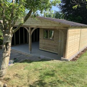 Olson Timber Buildings 5 star review on 15th June 2021
