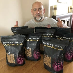 Carp Tackle Giveaways 5 star review on 6th August 2021