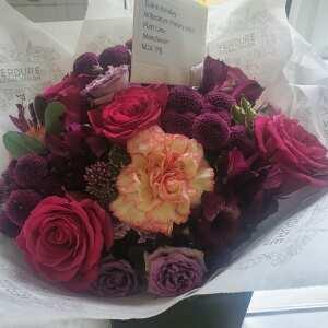 Verdure Floral Design Ltd 5 star review on 8th September 2021