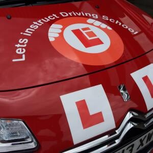 Let's Instruct Driving School 5 star review on 24th May 2019