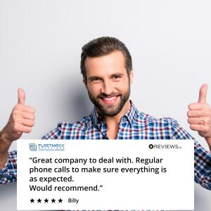 Fleetmaxx Solutions 5 star review on 10th July 2021