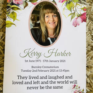 Devine Funeral Stationery 5 star review on 18th February 2021
