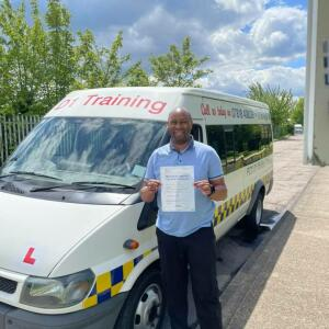 Sirens Driving Academy 5 star review on 2nd June 2021
