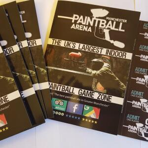 Manchester Paintball Arena 5 star review on 28th March 2019