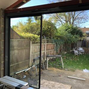 Express Bi Folding Doors Romford 5 star review on 19th November 2018